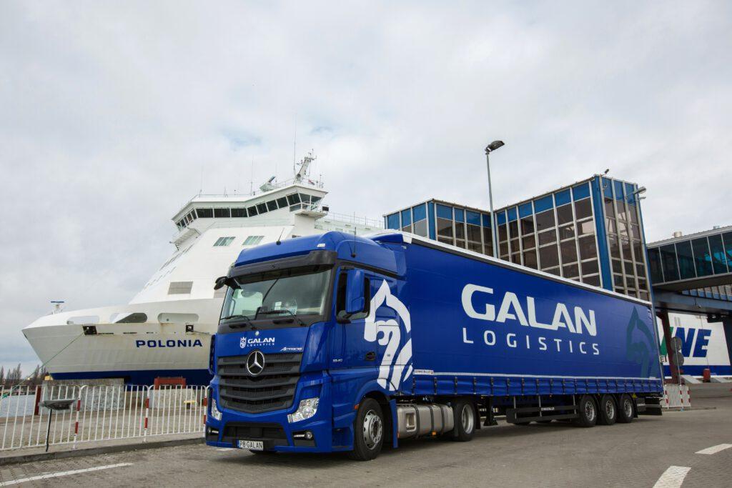 Galan Logistics Przeprawy Promowev