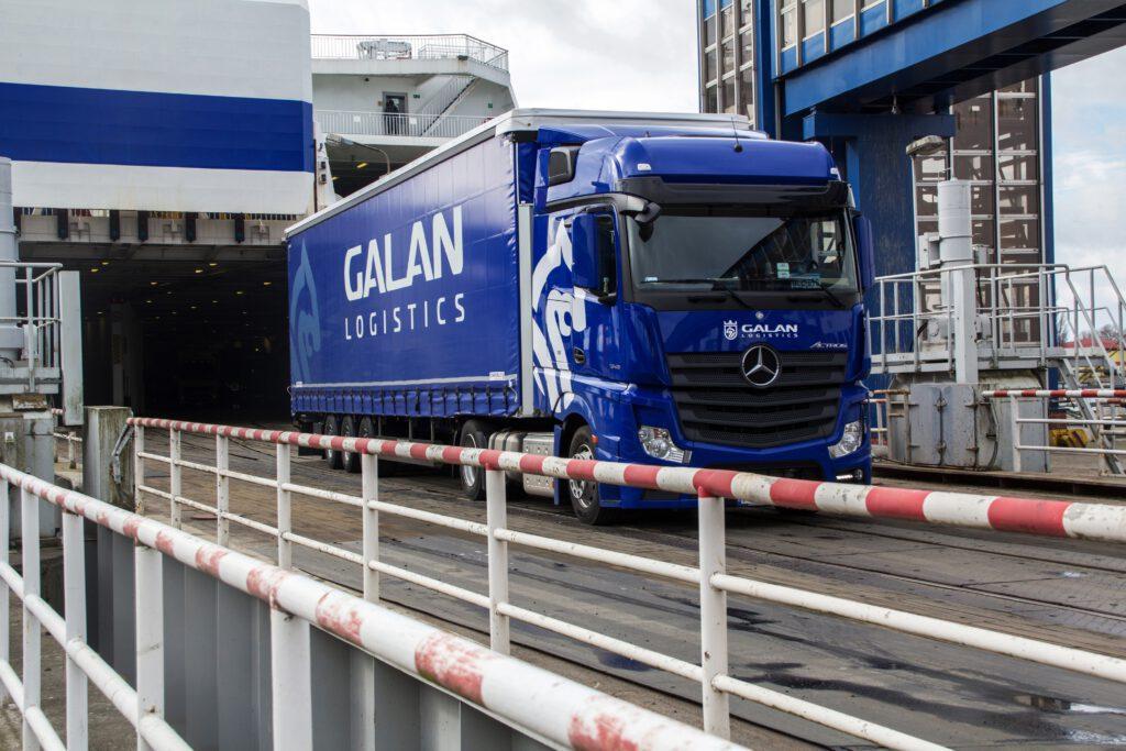 Galan Logistics Przeprawy Promowe